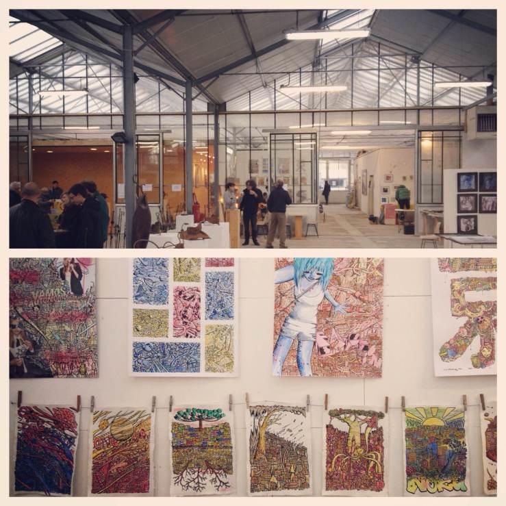 Usine Utopik artshow 2012