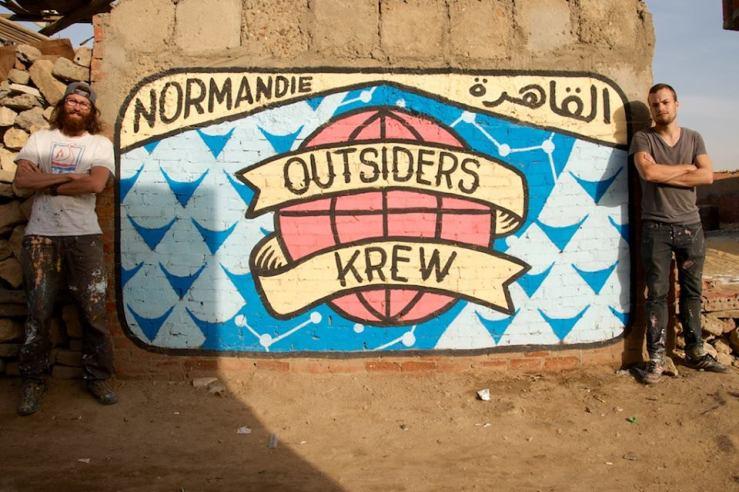 OutsidersKrew mural